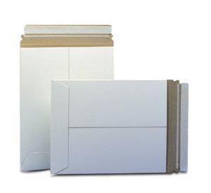 White Self-Seal Catalog Style Paperboard Mailers