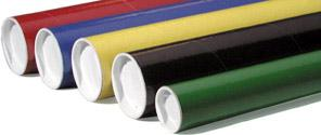 Colored Mailing Tubes