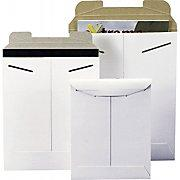 Stayflats® Original White Tab-Lock Mailer