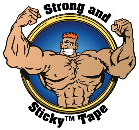 Light Duty Strong and Sticky Hot Melt Tape