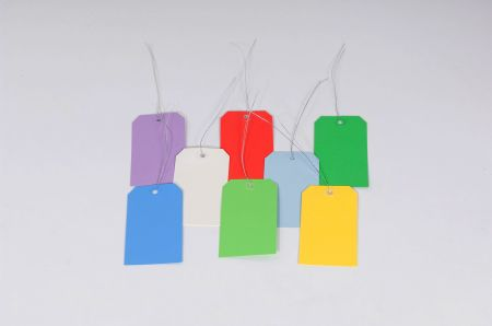 13 Point Pre-Wired Colored Tags - Individual Colors