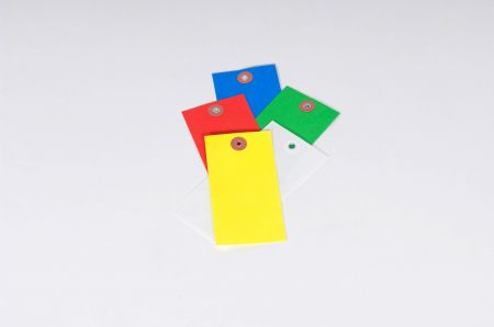 Tyvek® Colored Plain Tags