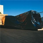 10' x 100` 4 Mil Heavy-Duty Black Poly Sheeting