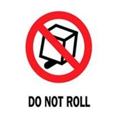 "#DL4120  3 x 4""  Do Not Roll Label"