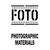"#DL4300  3 x 4""  FOTO Photographic Materials Label"
