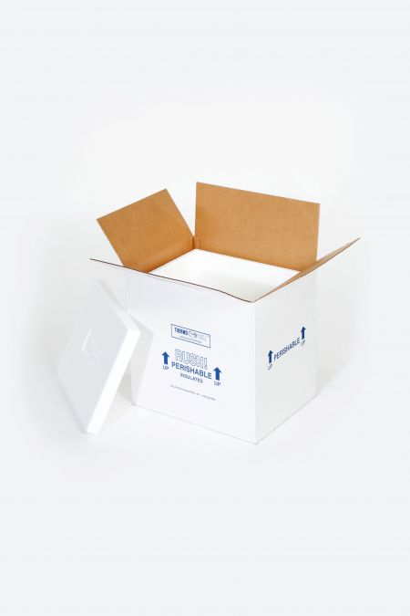 "8 x 6 x 12"" Insulated Shipper - 1 1/2"" Thickness"