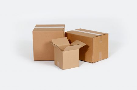 12 3/4 x 12 3/4 x 13 1/2  32ECT Master Carton holds 8-Pack of 6x6x6 Boxes