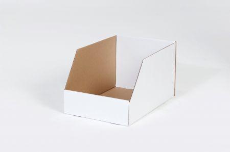 "12 x 12 x 8"" Jumbo Open Top Bin Box"