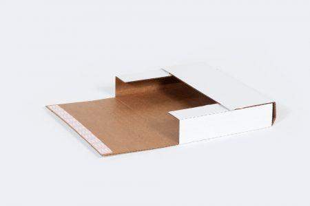"""11 1/8 x 8 5/8 x 2"""" Self-Seal Corrugated Bookfold"""