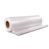 24' x 100` 4 Mil Heavy-Duty Clear Poly Sheeting