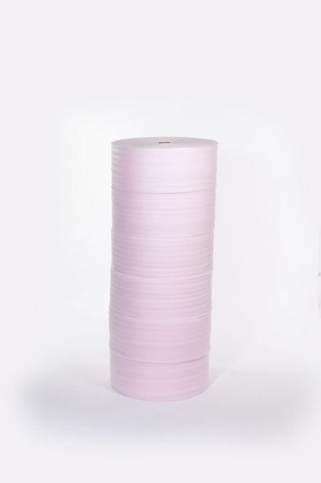 "1/8"" 72"" x 550` Anti-Static  Slit 12"" Perfed 12""  Foam .........(6 rolls/bundle)"