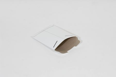 "6 x 6""  #9SFW White Tab-Lock Original Stayflats® Mailer (200/Case)"