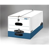 """Bankers Box® String and Button Box - 24 x 15 x 10""""  Legal Size - #FEL0070501 (12/case)"""