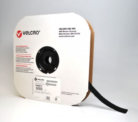 "3/4""x75 VELCRO® Brand Black Loop (1 roll)"