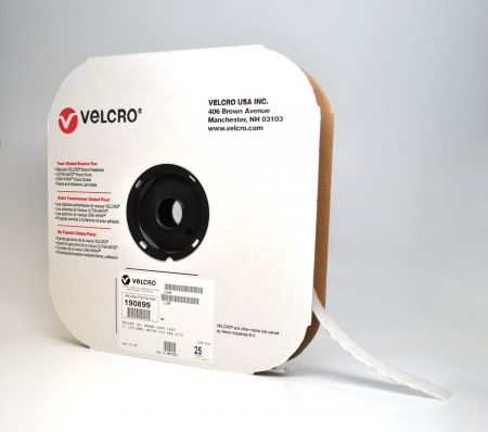 "1/2""x75' VELCRO® Brand White Loop (1 roll)"