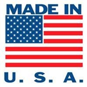 "#DL1620  4 x 4""  Made In USA Label"