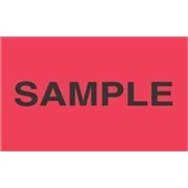 "#DL2781  3 x 5""  ""Sample"" Label"