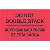 """#DL3051  3 x 5""""  No Pongnan Nada Encima De Esta Carga- Bilingual Label"""
