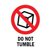 "#DL4240  3 x 4""  Do Not Tumble Label"