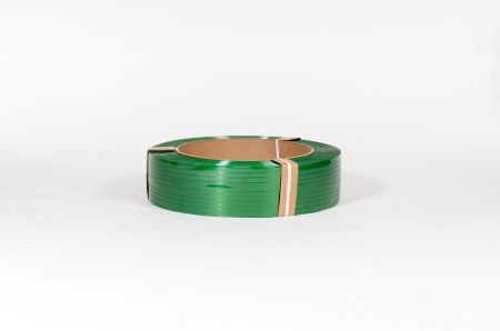 "5/8"" x 4,000` .035 1400# 16 x 6 Smooth Green Polyester Strapping (each)"