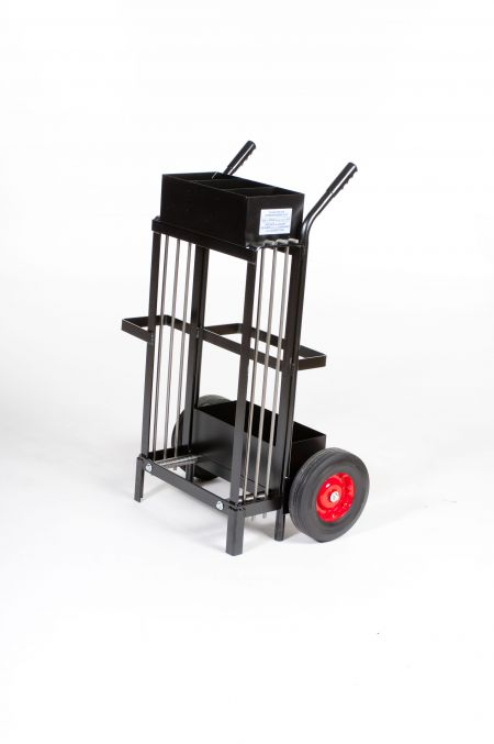 Extra Heavy Duty Ribbon Wound Steel Strap Dispenser Cart - MIP6850