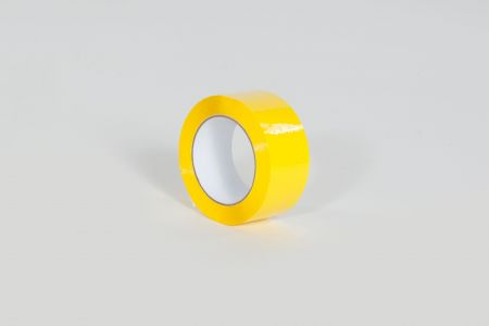 "2"" x 110 yds. 1.9 Mil Yellow Carton Sealing Tape (36/Case)"