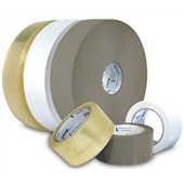 "3"" x 60 yds. 2.5 Mil Heavy Duty Clear Hot Melt Carton Sealing Tape (24/Case)"