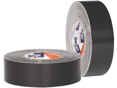 "2"" x 36 yds. (48mm x 33m) 17 Mil Black Bottom Board Tape (24/Case)"