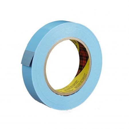 "3/4"" x 60 yds. 4.6 Mil Blue 160lbs Tensile Strength 3M #8898 Scotch® Polypropylene Stapping Tape (48/case)"